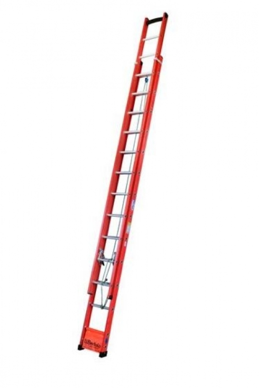Onde Encontro Locação de Escada para Construção Bananal - Locação de Escadas de Fibra Extensível