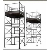 orçamento para locação de andaimes e plataformas nr 18 Pompéia